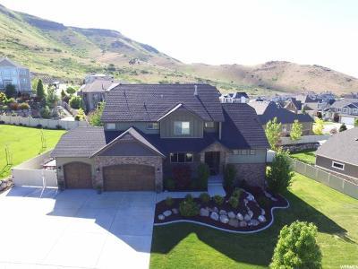 Herriman Single Family Home For Sale: 15064 S Hunt Harder Dr W