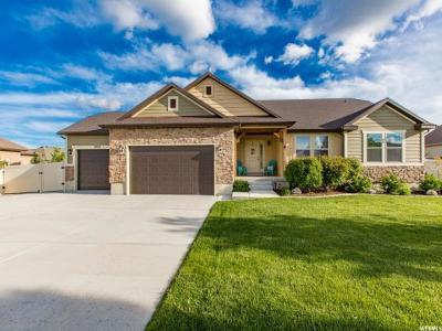 Herriman Single Family Home For Sale: 5937 W Grandpere Ave