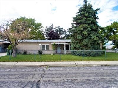 Tooele Single Family Home Under Contract: 450 American Way