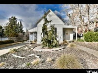 Ogden Single Family Home For Sale: 1050 E Doxey St S