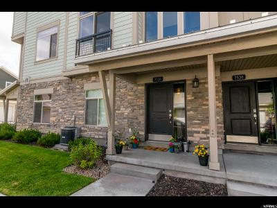 Midvale Townhouse Under Contract: 7536 S Coreiano W