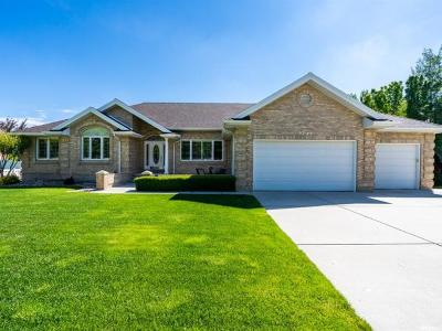 South Jordan Single Family Home For Sale: 9743 S Pine Brook Dr W