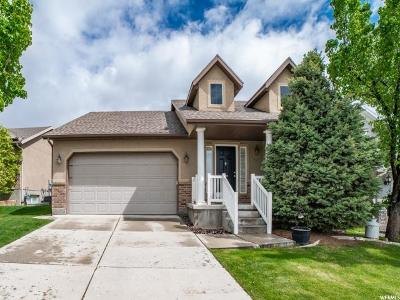 Herriman Single Family Home Under Contract: 4722 W Liberation Dr