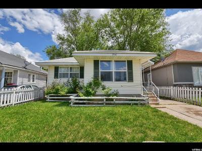 Ogden Single Family Home Backup: 2960 S Porter Ave