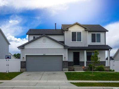 Santaquin Single Family Home Under Contract: 837 N 150 W