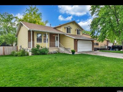 Kaysville Single Family Home Backup: 600 E 1400 S