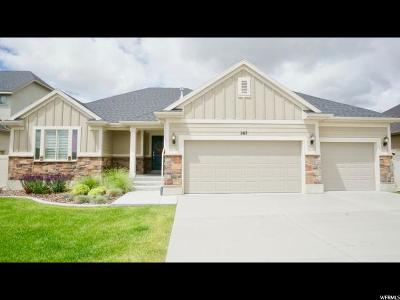 Stansbury Park Single Family Home Under Contract: 267 E Angell Way