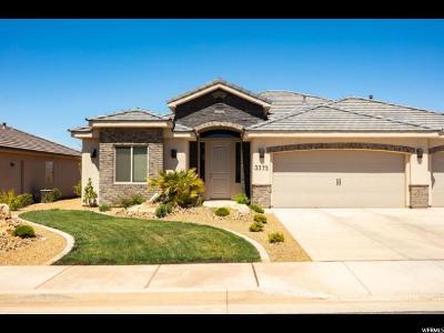 St. George Single Family Home For Sale: 3375 E Crimson Ridge Dr S