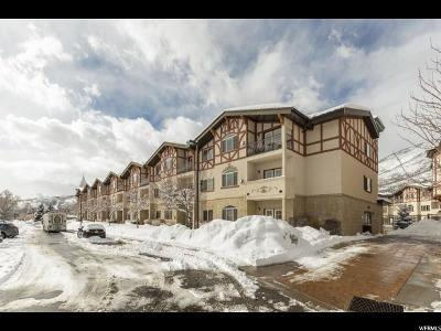 Wasatch County Condo For Sale: 840 N Bigler Ln W #2081