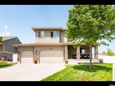 Herriman Single Family Home Under Contract: 4856 W Adit Cir S