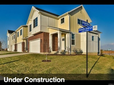 Herriman Townhouse For Sale: 5372 W Autumn Might Ln #134
