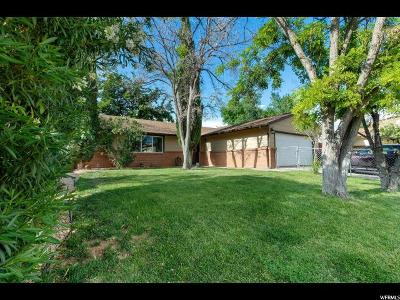 St. George Single Family Home Under Contract: 1182 W 540 N