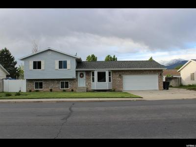 Spanish Fork Single Family Home Under Contract: 1605 E 500 S