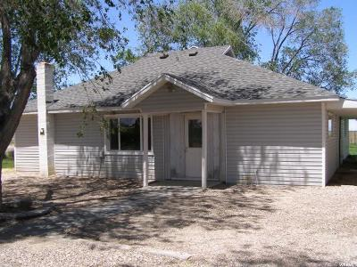 Single Family Home Under Contract: 2412 W 3500 S