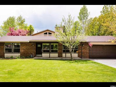 Wasatch County Single Family Home For Sale: 172 S 580 E