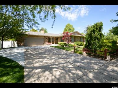 Kaysville Single Family Home Under Contract: 661 N 240 E