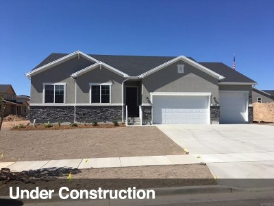Davis County Single Family Home Under Contract: 3238 W 650 N #119