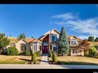 Draper Single Family Home For Sale: 1624 E Hillside Oaks Cv S