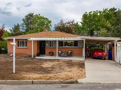 Holladay Single Family Home Under Contract: 4144 S Shanna St E