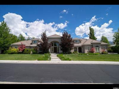 Provo Single Family Home Under Contract: 3352 Cottonwood