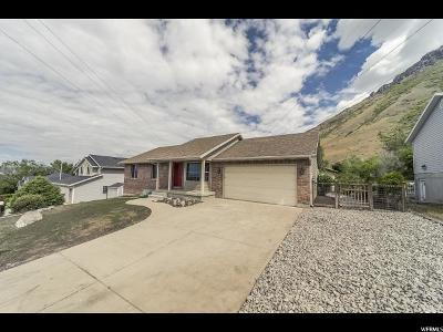 Springville Single Family Home Under Contract: 591 E 1150 N