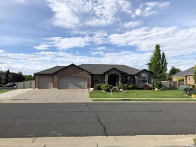 Clinton Single Family Home Under Contract: 2761 W 1010 N