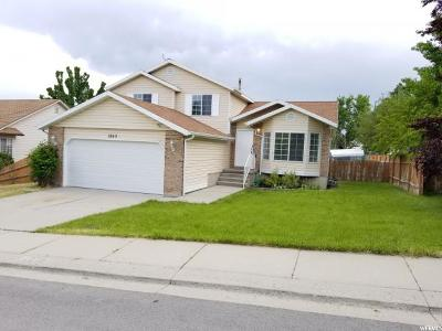 West Jordan Single Family Home For Sale: 3253 W Caraway Bay Cir S