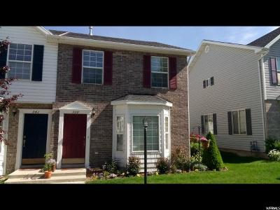 Providence Townhouse Under Contract: 339 W 280 N