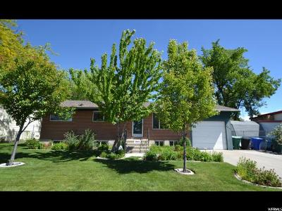 West Jordan Single Family Home For Sale: 3846 W Sumter Dr