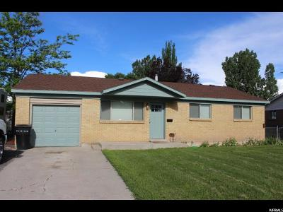 Tremonton Single Family Home For Sale: 721 S 100 W