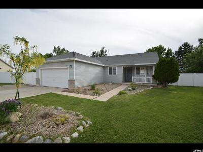 Kaysville Single Family Home Under Contract: 448 S Christine Way W