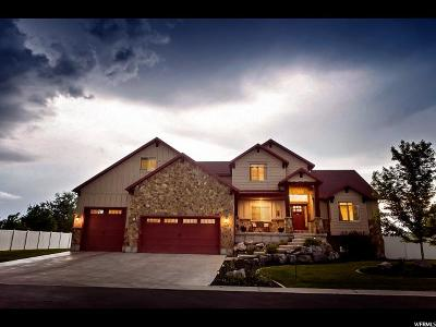 Kaysville Single Family Home For Sale: 1352 Angel Crest Way