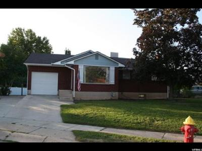 Layton Single Family Home Under Contract: 787 E Lindsay St N