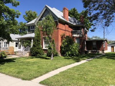 Salt Lake City Multi Family Home Under Contract: 925 Logan Ave