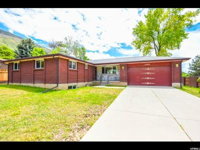 Cottonwood Heights Single Family Home For Sale: 3468 E Summerhill Dr S