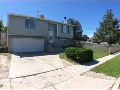 West Jordan Single Family Home Under Contract: 6362 S Fuchsia Dr W