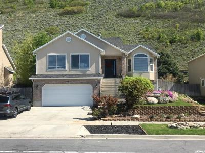 Draper Single Family Home Under Contract: 404 E Steep Mountain Dr