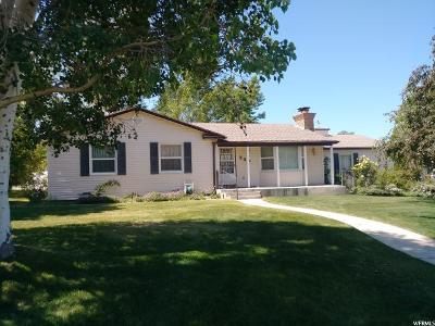 Brigham City Single Family Home For Sale: 230 S Jones Dr E