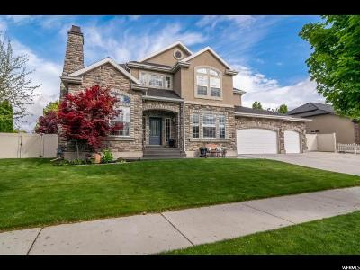 South Jordan Single Family Home Backup: 11268 S Alpine Creek Way