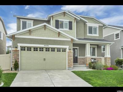 Herriman Single Family Home Under Contract: 5376 W Rochdale Ln