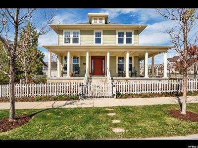 South Jordan Single Family Home For Sale: 10468 S Lake Ave
