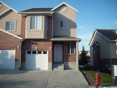 South Jordan Townhouse Under Contract: 3876 W Sage Meadow Dr S