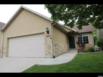 Spanish Fork Townhouse For Sale: 3057 E Canyon Glen Loop