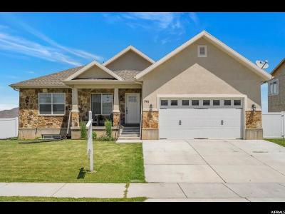 Santaquin Single Family Home Under Contract: 348 W Royal Land Dr S