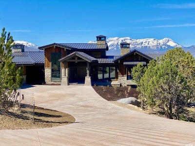Wasatch County Single Family Home For Sale: 685 N Explorer Peak Dr (Lot 401) #401