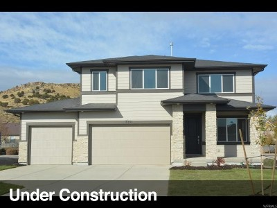 Eagle Mountain Single Family Home For Sale: 7391 N Harvest Crop Dr E