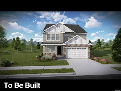Herriman Single Family Home For Sale: 12552 S Clipper Peak Dr #814
