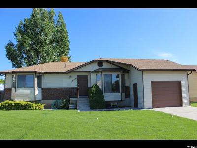 Tremonton Single Family Home Backup: 238 W 600 S