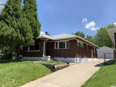 Ogden Single Family Home Under Contract: 2806 Eccles