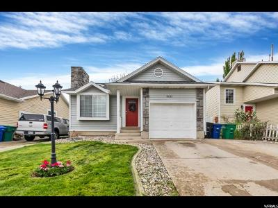 West Jordan Single Family Home Under Contract: 3121 W 8525 S